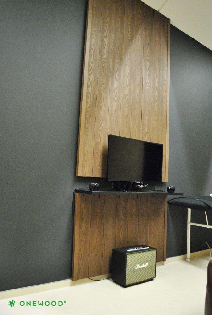 sienos apdaila su WPC