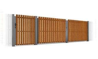 dvivėriai vartai