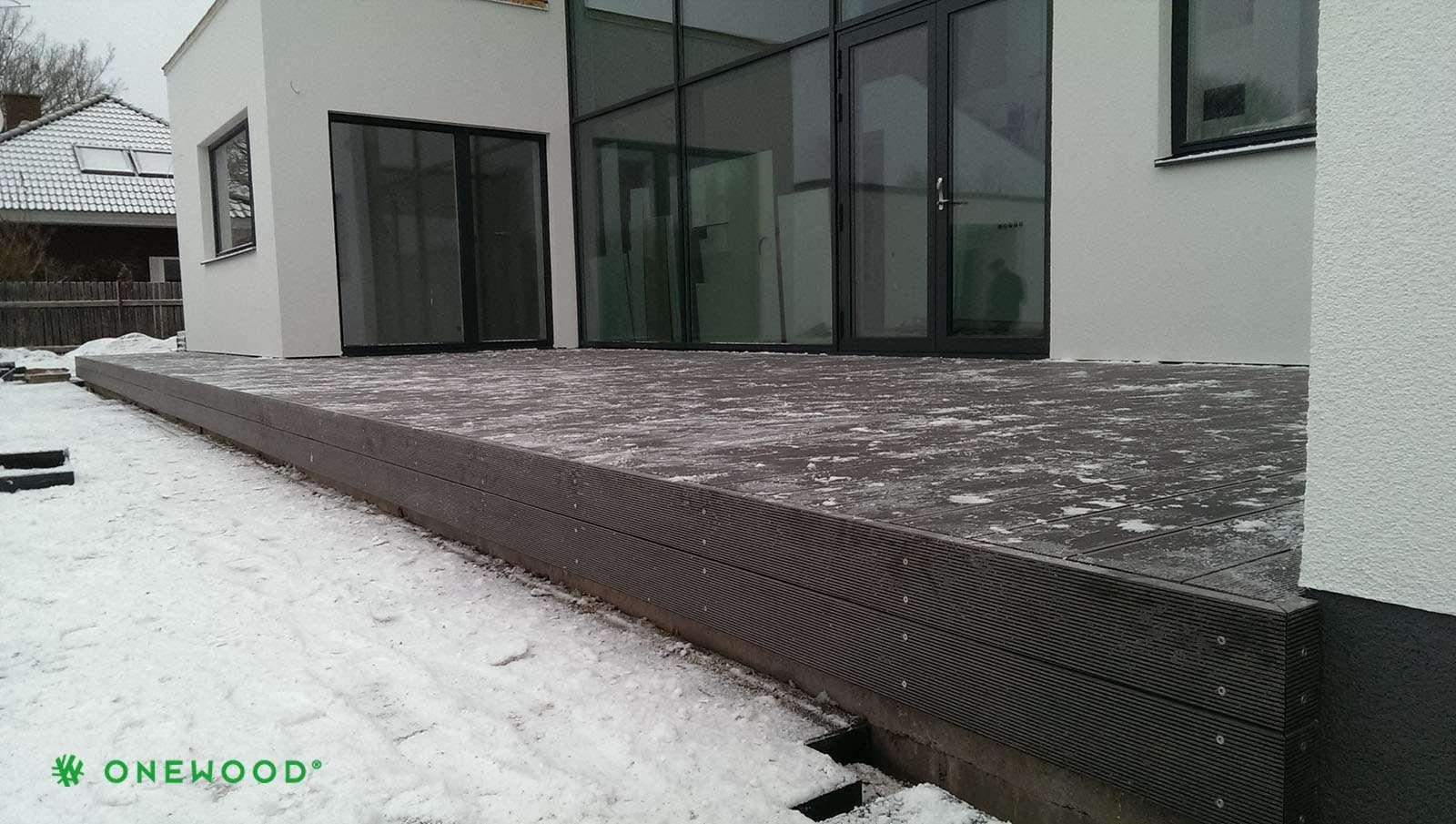 medžio-plastiko kompozitas terasoms