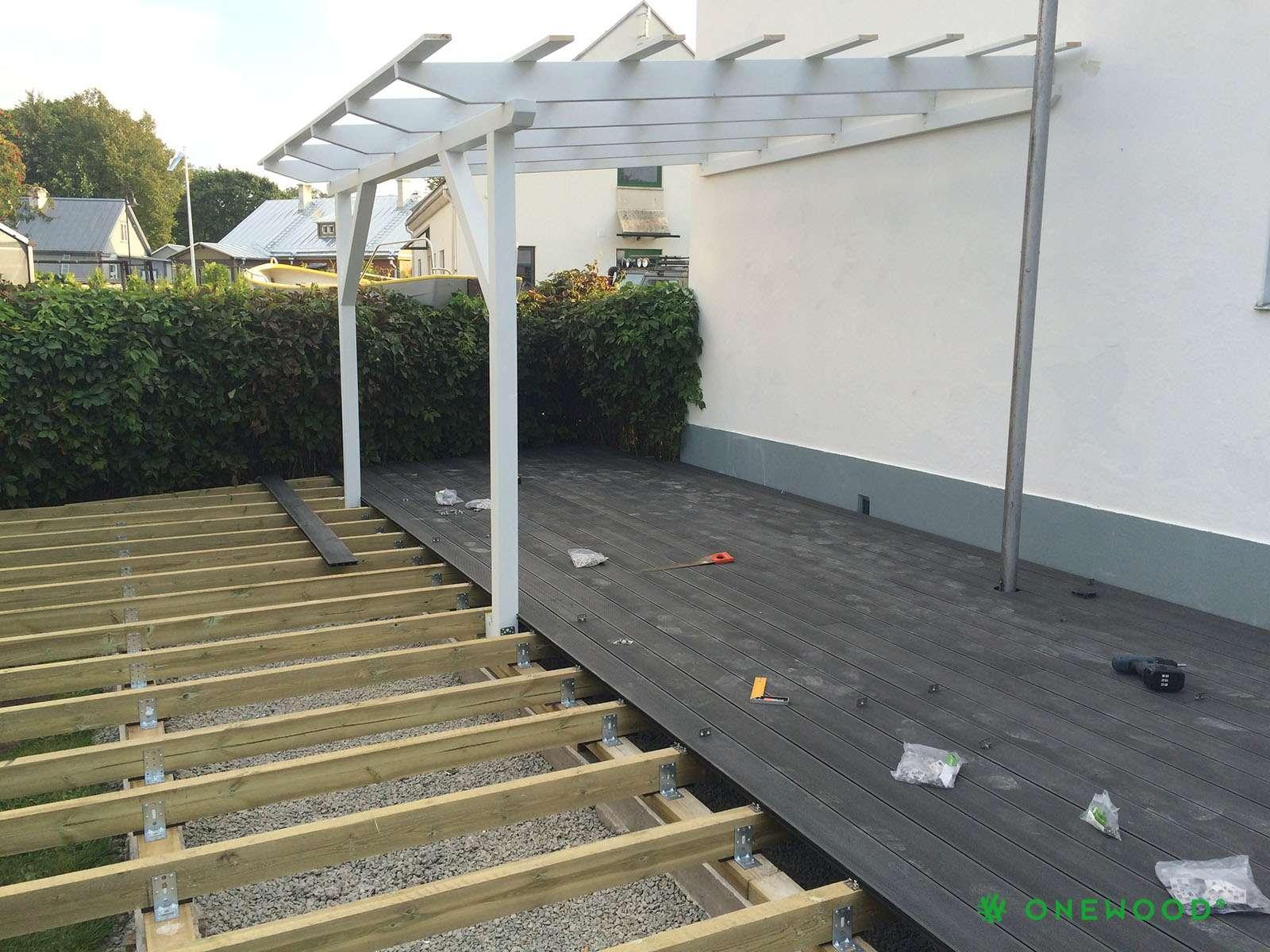 terasos montavimo darbai