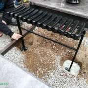 lauko suolo montavimas