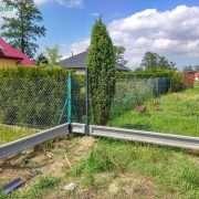 tvoros su surenkamu pamatu montavimas